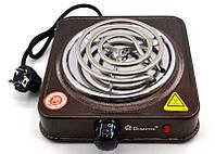 Спиральная плита Domotec MS-5801 (1000 Вт)