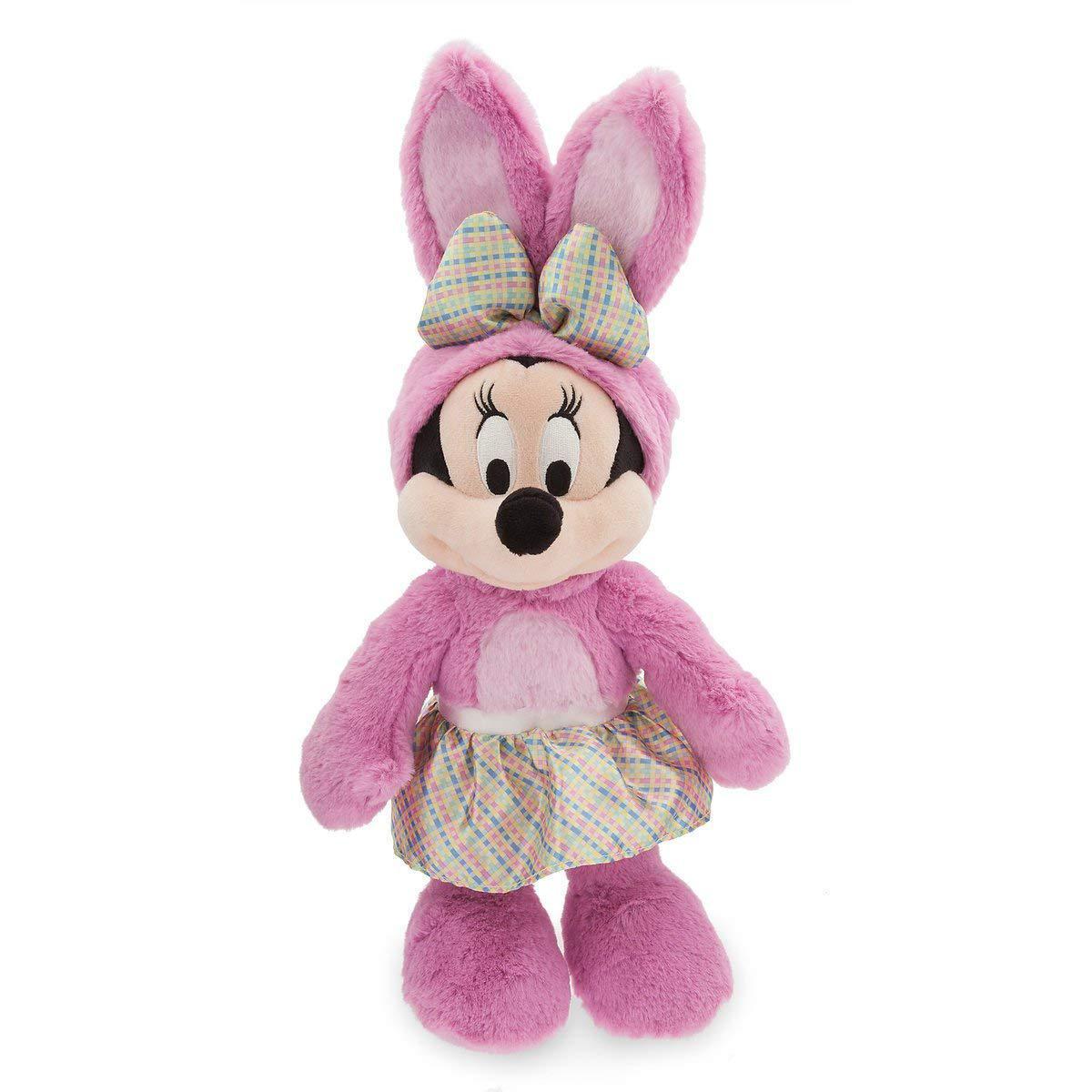 Disney Мягкая игрушка Минни Маус плюшевый зайчик 35см