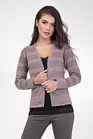 Модная женская кофта-пиджак