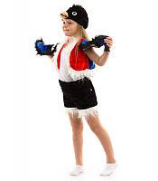 Детский карнавальный костюм СНЕГИРЬ для детей 3,4,5,6,7 лет, детский новогодний костюм СНЕГИРЯ ПТИЦЫ