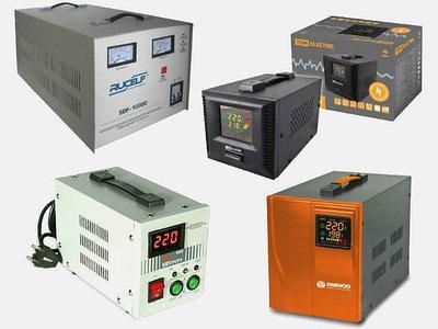 Стабилизаторы, ИБП, электрогенераторы, компрессоры