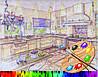 Выбор цветовой гаммы для кухни.