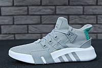 Кроссовки  Adidas EQT Bask ADV серые топ реплика