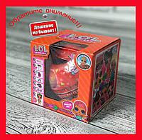 Кукла ЛОЛ (LOL) Кукла сюрприз в шаре (красная 7 surprises)