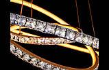 Каскадная люстра кольца с тремя режимами света 5097 , фото 5
