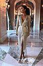 Кардиган-платье люрексовая нить (2 цвета), фото 9
