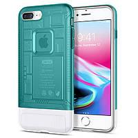 Чехол Spigen для iPhone 8 Plus Classic C1, Bondi Blue (055CS24407)