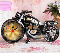 Часы будильник «Мотоцикл» большой Alarm Clock