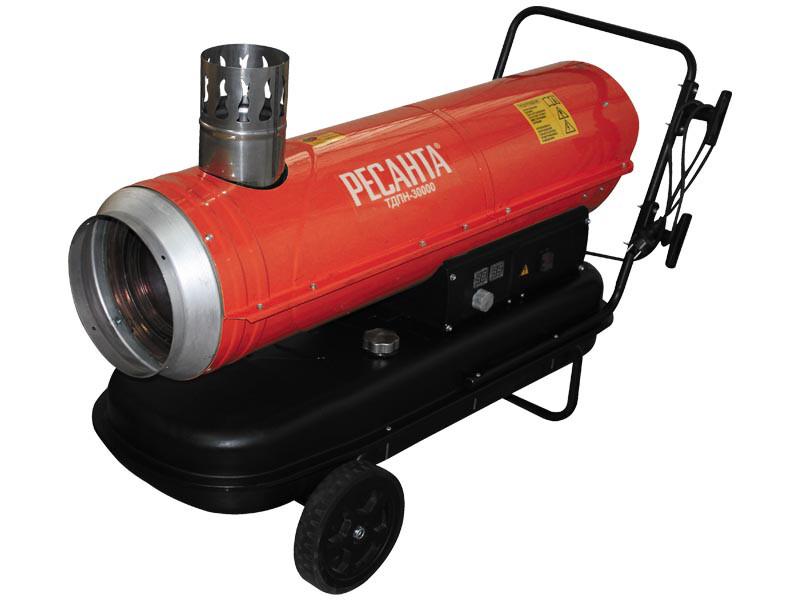 Тепловая дизельная пушка непрямого нагрева Ресанта ТДПН-30000