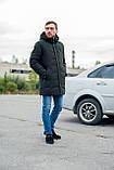 Чоловіча зимова куртка, кольору хакі., фото 9