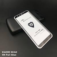 Защитное стекло Full Glue Xiaomi Mi A2 / Mi 6X (черное)
