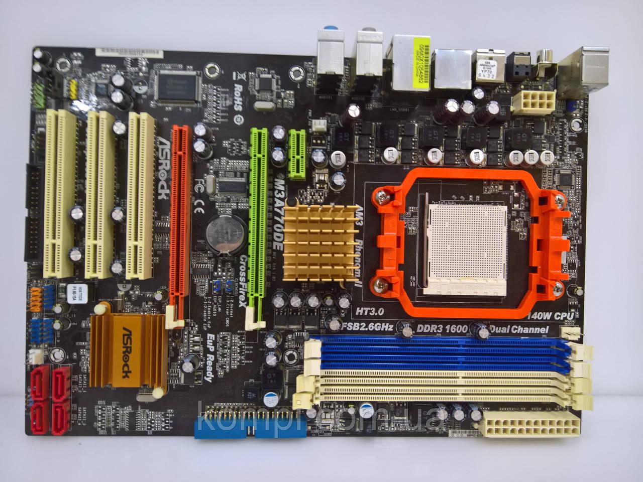 Материнская плата ASRock M3A770DE AM3 DDR3