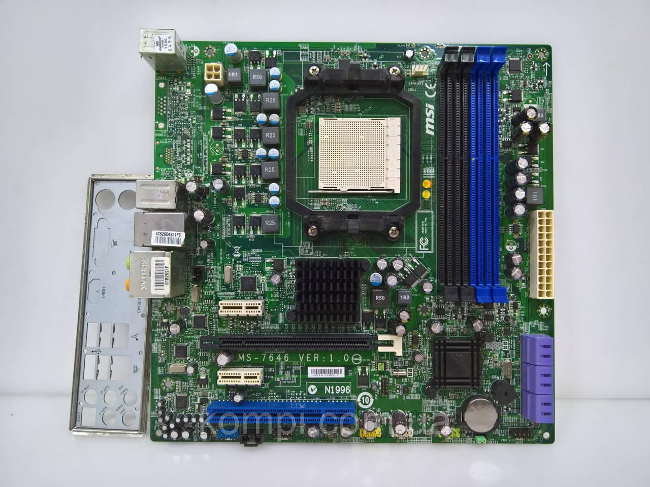 Материнская плата MSI MSI MS-7646 AM3 DDR3