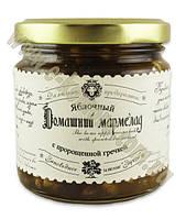 """Мармелад яблочный с фруктозой и пророщенной гречкой """"Заповедное имение """"Заросье"""" 240 грамм"""