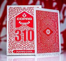 Карты игральные Copag 310 Red (для фокусов и покера)