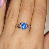 Опал кольцо с опалом в серебре. Размер 18, фото 2