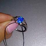 Опал кольцо с опалом в серебре. Размер 18, фото 3