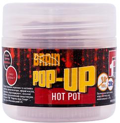 Бойлы Brain Pop-Up F1 Hot pot (специи) 10 mm 20 gr (1858.01.84 )