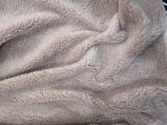 Искусственный мех овчина капучино, фото 2