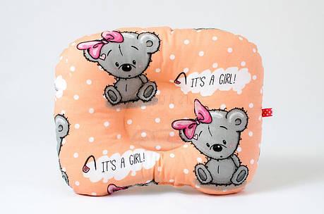 """Детская ортопедическая подушка """"It's a girl"""", фото 2"""