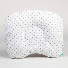"""Комплект в коляску """"Серый Микки"""" одеяло 65 х 75 см подушка 22 х 26 см серый, фото 3"""