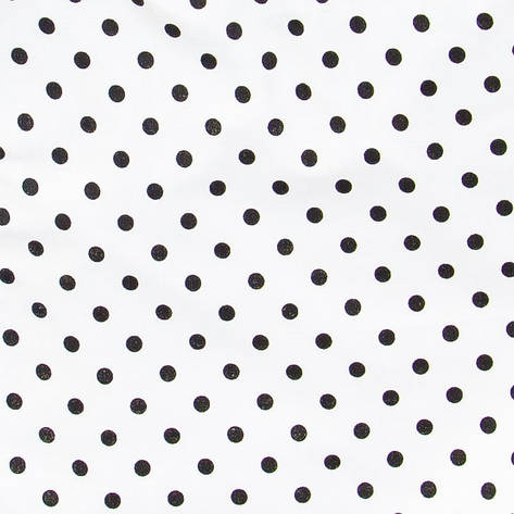 Простынь на резинке в коляску Белая в горох 80 х 40 см (100% хлопок), фото 2