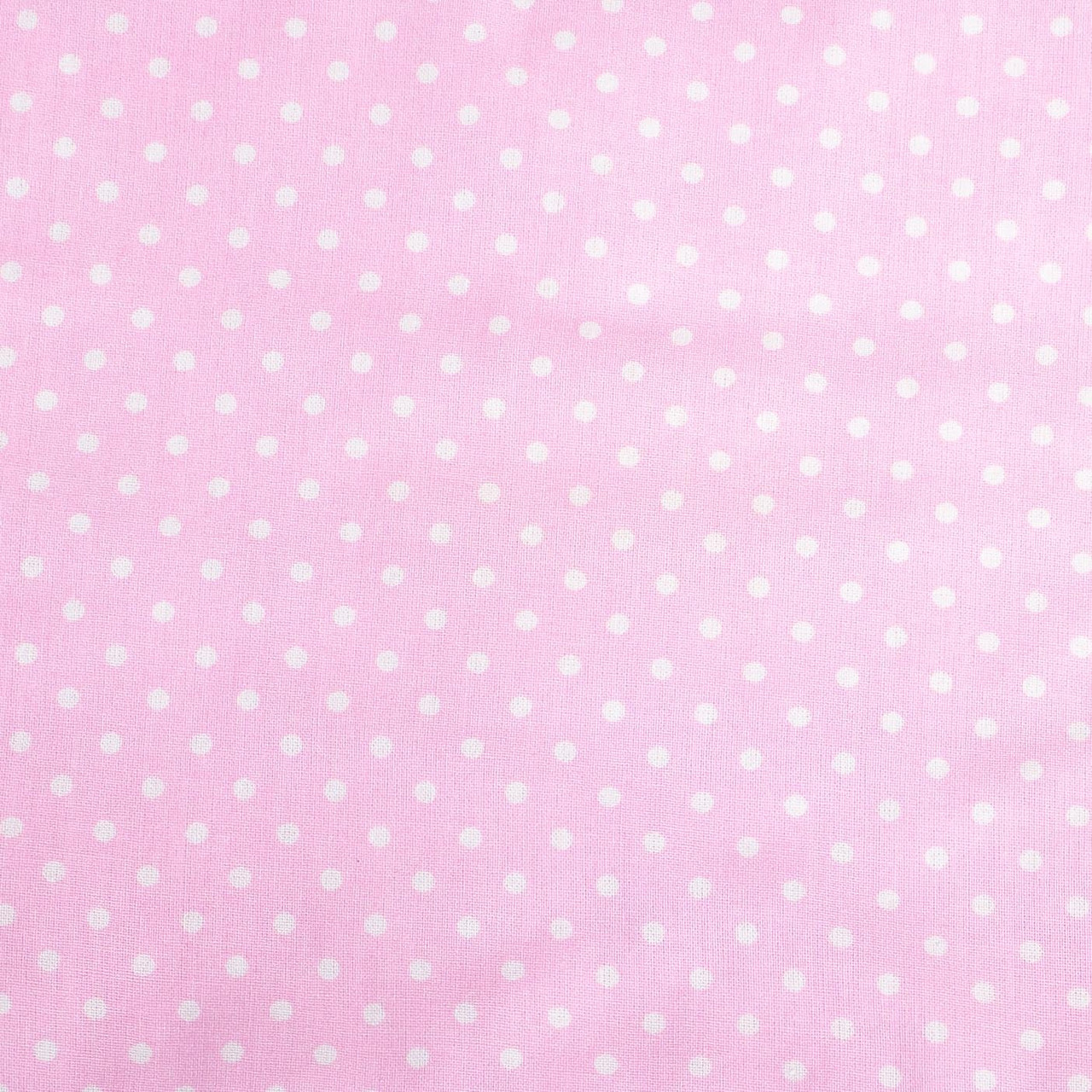 """Простынь на резинке в детскую коляску """"Розовая в мелкий горошек"""" 80 х 40 см"""