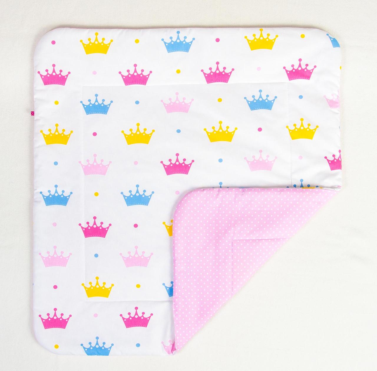 """Детское хлопковое одеяло """"Короны"""" 80 х 85 см"""