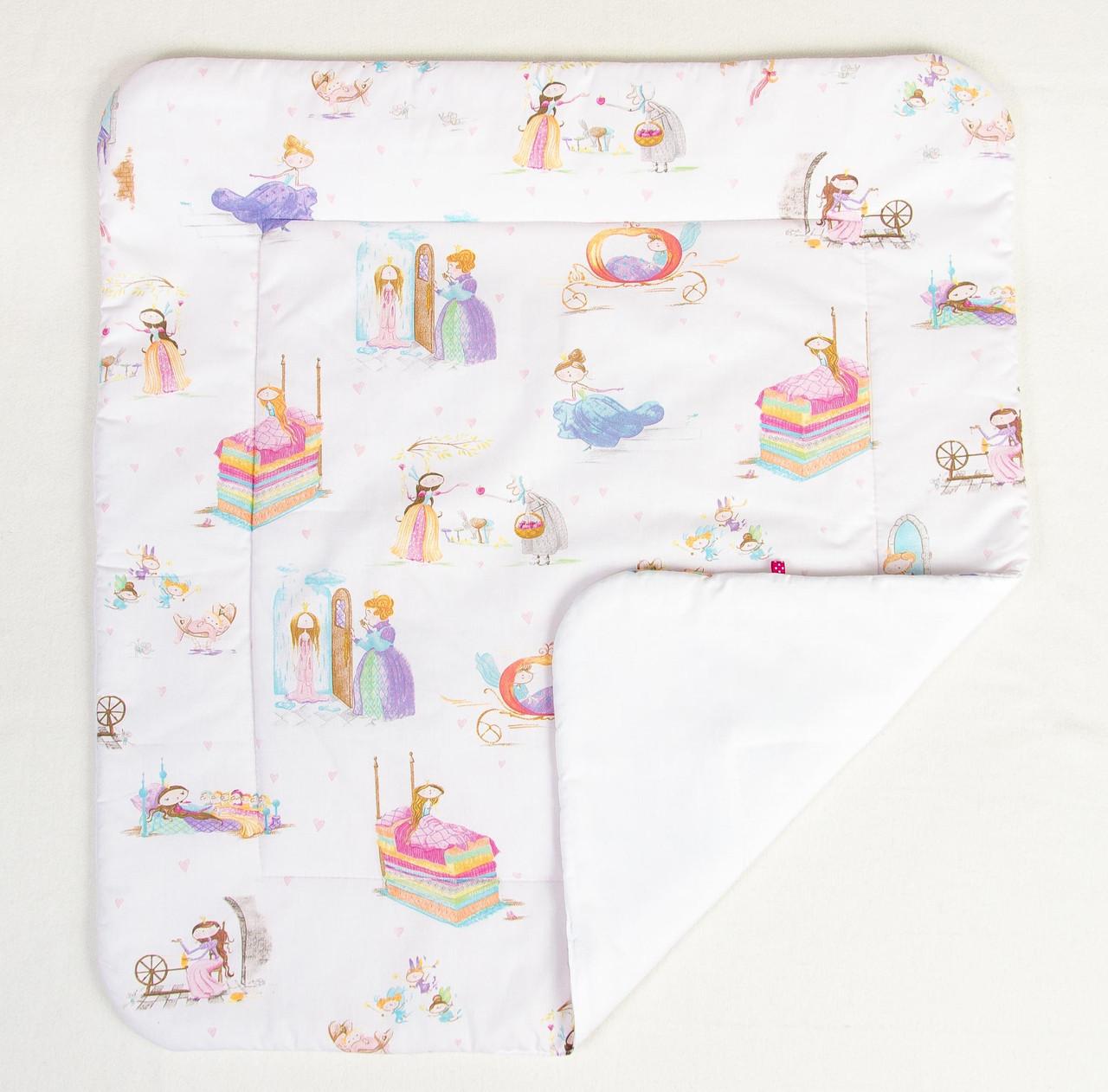 """Детское хлопковое одеяло """"Принцессы из сказок"""" 80 х 85 см"""