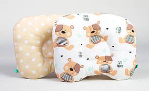 """Постельный комплект в детскую колыбель, коляску три предмета (одеяло, подушка, простынь) """"Мишки Тедди"""", фото 2"""