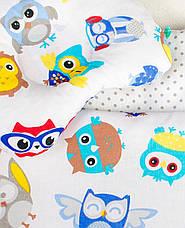 Постельное белье в детскую колыбель, три предмета (одеяло, подушка, простынь), фото 3