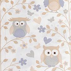 """Постельное белье в детскую колыбель, три предмета (одеяло, подушка, простынь) """"Совуньи"""", фото 2"""