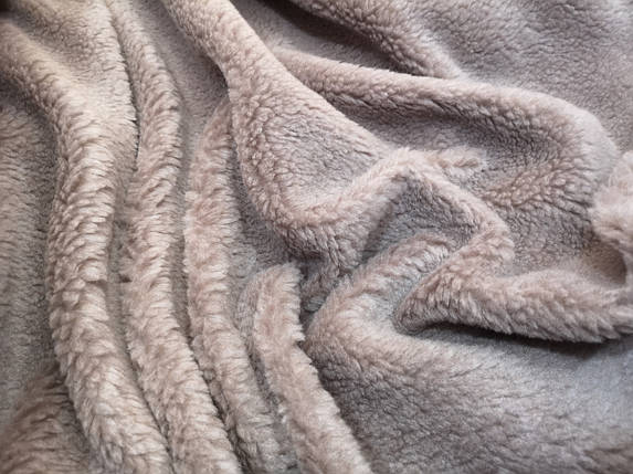 Мех искусственный овчина капучино, фото 2