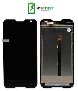 Дисплей (LCD) Blackview BV5000 с сенсором черный