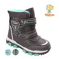 806e9429f Зимние ботинки дутики водонепроницаемые на мальчика средние размеры 27-32