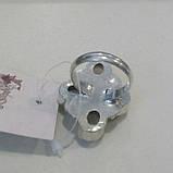 Кварц кольцо с натуральным розовым кварцем в серебре. Размер 17,5. Индия, фото 5