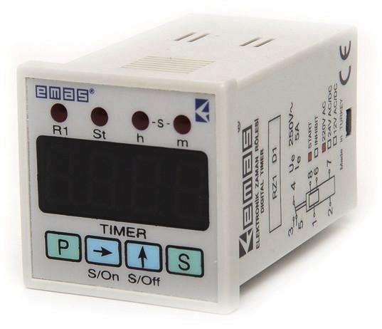 Таймер цифровой многофункциональный 0.1с-99.59ч 24В DC