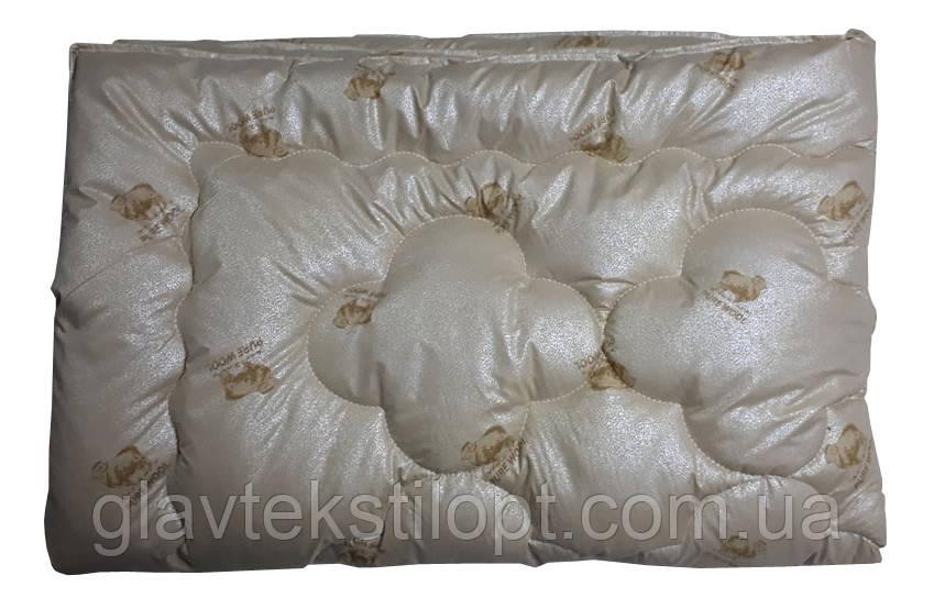 Шерстяное одеяло Люкс евро ТМ Главтекстиль