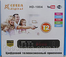 Цифровой тюнер Т2 HD-1004 OPERA DIGITAL Full HD 1080P, Wi-Fi, HDMI