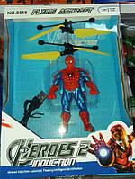 Интерактивная Детская Игрушка Супер Героев Человек Паук, Халк, Бэтмен Fling Aircraft