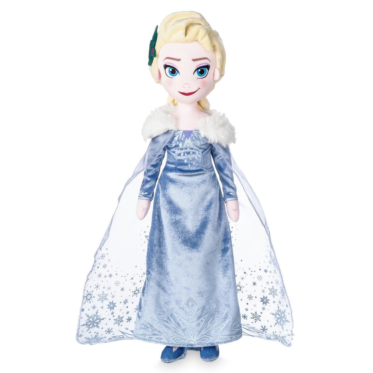 Disney Мягкая игрушка кукла Эльза 48см - Приключения Олафа Холодное се