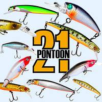 Воблери Pontoon 21