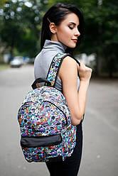 Принтованный рюкзак Urban с внешним карманом
