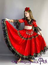 Циганка, дитячий карнавальний костюм циганочки (код 24/8)