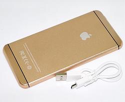 Power bank в стиле Apple iPower iP6 (золотой павербанк) для Apple iPhone и Android