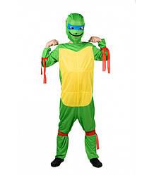 Детский карнавальный костюм НИНДЗЯ ЧЕРЕПАШКА на 3,4,5 лет, новогодний костюм СУПЕР ГЕРОЕВ