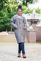 Шерстяное пальто на подкладе 50-56 р, фото 1