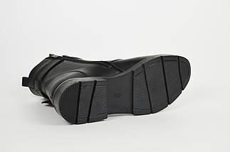 Стильные ботинки с накладкой Euromoda 010627, фото 3