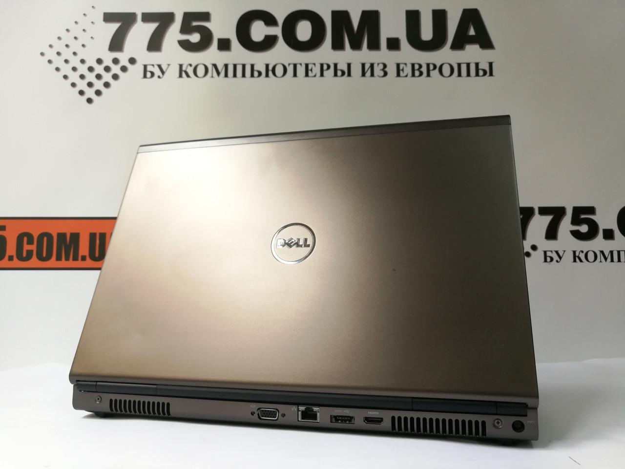 """Ноутбук Dell M4600, 15.6"""" (1920x1080), Core i7-2720QM 3.3GHz, RAM 8ГБ, SSD 240ГБ, NVIDIA Quadro 2GB, класс """"В"""""""