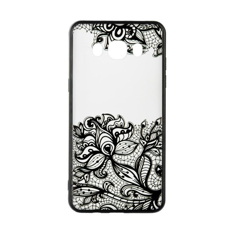 Rock Tatoo Art Case for Samsung J327 Fantasy Flowers